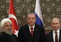 Iran summit seeks to avert a bloodbath in northwestern Syria