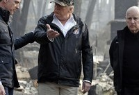 Trump, California spar over money for wildfire relief funds