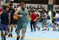آزادکاران اردونشین تست آمادگی جسمانی میدهند