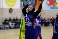 دیدار تیم های بسکتبال دانشگاه گلستان و پالایش نفت آبادان