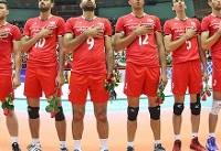 حریفان تیم ملی والیبال ایران در راه رسیدن به المپیک مشخص شدند