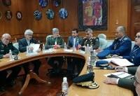 امیر حاتمی با وزیر دفاع ونزوئلا دیدار کرد