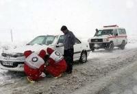 بیش از ۳ هزار نفر در استانهای برفی امدادرسانی شدند