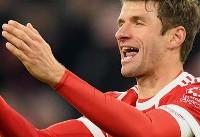 مولر دو بازی رفت و برگشت برابر لیورپول را از دست داد