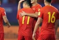 چین ۳ فیلیپین صفر / صعود شاگردان لیپی به دور دوم جام ملتهای آسیا