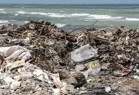 زباله از سر و کول ساحل نشینان خزر بالا میرود