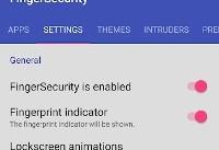 اپنت: قفل اپلیکیشنها با اثر انگشت در اندروید با FingerSecurity