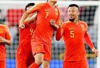 جام ملتها؛ چین به  مرحله یک هشتم صعود کرد