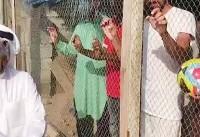 جنجالیترین خبر جام ملتهای آسیا   حبس کارگران هندی در قفس به جرم عدم حمایت از تیم فوتبال امارات