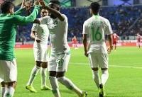 عربستان هم مسافر یک هشتم نهایی جام ملت ها شد