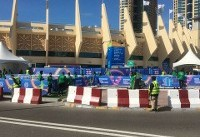 دربهای ورزشگاه آلنهیان باز شد/ تدابیر امنیتی در دیدار ایران و ویتنام