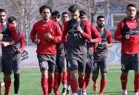 آخرین تمرین تیم فوتبال امید پیش از بازی با قطر برگزار شد