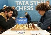 پایان دورچهارم مسابقات شطرنج تاتااستیل با صعود مقصودلو به رده سوم