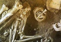 کشف گور جنگاور سه هزار ساله در رستمآباد