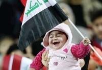 تصویری جالب از دیدار ایران و عراق + عکس