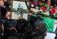 ویدئو / تشییع پیکر شهدای سانحه هواپیمایی باربری ارتش