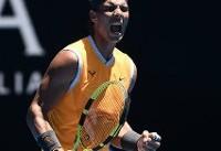 صعود نادال به دور چهارم تنیس اپن استرالیا