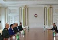 سردار باقری با رئیس جمهوری آذربایجان دیدار کرد