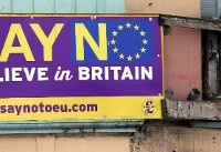 Brexit-voting town urges British MPs to grow up
