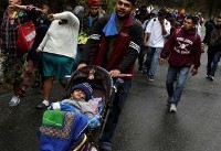 Hundreds in new U.S.-bound migrant caravan cross into Guatemala