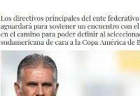 سفر مدیران کلمبیا به امارات و مذاکره با کیروش لغو شد!
