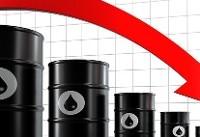 قیمت نفت خام ۲درصد سقوط کرد