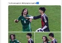 توئیت جالب AFC در مورد ۲ بازیکن سرخابی +عکس