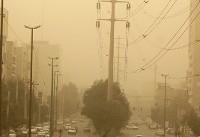 گرد و غبار در اهواز به ۲۲ برابر حد مجاز رسید