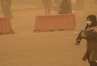 هجوم عجیب ریزگردها به ۱۳ شهر خوزستان