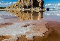 وسعت دریاچه ارومیه ۳۹۲ کیلومترمربع افزایش یافت