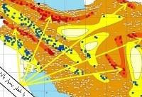 ثبت زلزله بیش از ۴ در