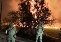 مرگ حدود ۱۰۰ نفر در حادثه انفجار خط لوله نفتی مکزیک