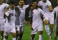 پیروزی قاطع فوتبالسیت های امید برابر کویت