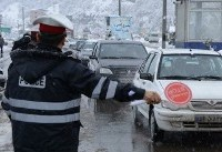 تقدیر محمدرضا عارف از پلیس راهور و پرسنل راهداری