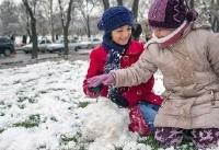 برف و سرما، برخی از مدارس شهرستانهای کرمانشاه را تعطیل کرد