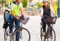 لباس مجهز به کیسه هوا برای دوچرخه سواران (+عکس)