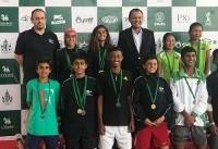 کسبسه نشان طلا، نقره و برنز نمایندگان ایران در تنیس سطح ۲ آسیا در تایلند