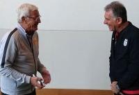 دیدار کارلوس کیروش با مارچلو لیپی