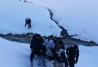 مصدومیت ۱۱ نفر در پیست اسکی کاکان یاسوج