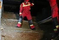 مرگ دردناک چاهکن ۱۸ ساله در شهرک غرب | تصاویر