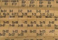 رونمایی از قدیمیترین جدول تناوبی جهان در انگلیس