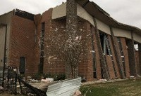 Damage from EF2 tornado reported in Wetumpka, Alabama