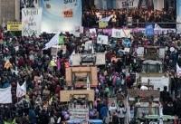 هزاران نفر در برلین علیه کشاورزی صنعتی تظاهرات کردند