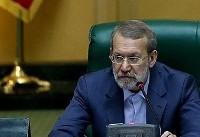 واکنش لاریجانی به بازداشت