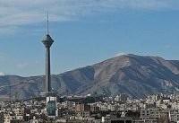 هوای تهران با شاخص ۸۳ سالم است