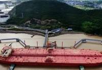 نخستین محموله نفتی ایران به مقصد ژاپن حرکت کرد