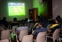 قلعهنویی شاهد بازی تیم ملی برابر عمان+عکس