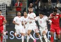 برتری ایران در آمار به جای مانده از بازی با عمان