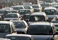 ترافیک نیمه سنگین در آزاد راه کرج-قزوین