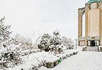 همدان سردترین نقطه کشور   تهران ۱۲ درجه زیر صفر   بارش برف در  شرق کشور